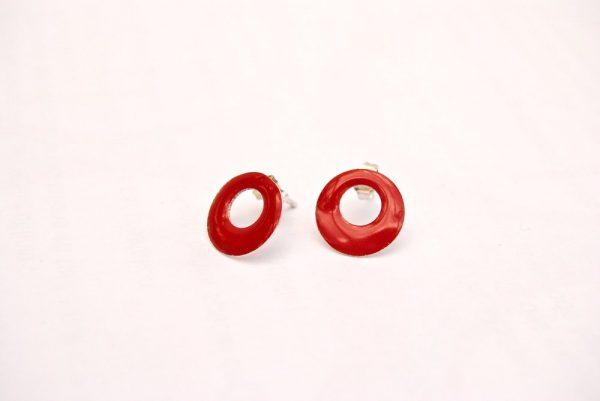 basic oorstekers rood