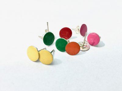 gekleurde oorbellen colour mix
