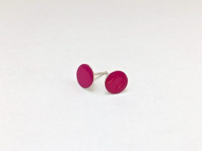 gekleurde oorstekers roze
