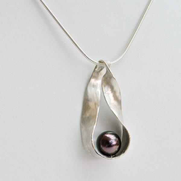 hanger zilver tahitiparel