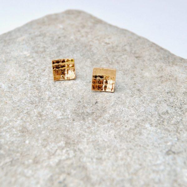 square oorstekers goud