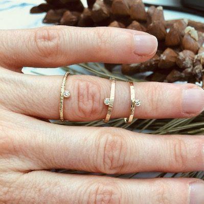 Gouden ringen diamant